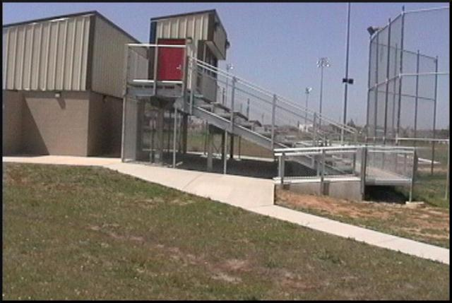 Owasso softball complex bleachers after litigation